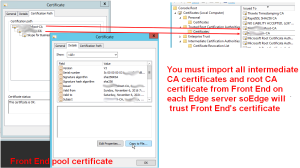 import-ca-certificate-skype-for-business-edge-0x80090325(SEC_E_UNTRUSTED_ROOT)