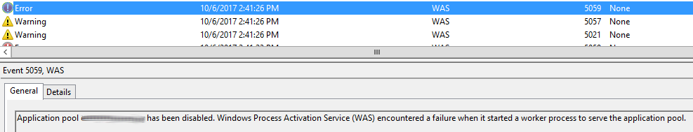 IIS-error-503-application-identity-disabled