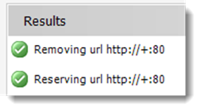 thumbnail image 4 of blog post titled Reporting Services: Error creating HTTP endpoint - Access is Denied